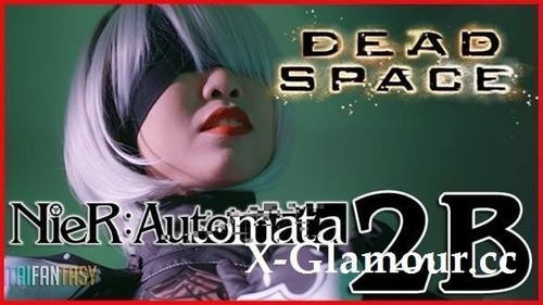 Nier Automata 2B Fucks In Dead Space Full [FullHD]