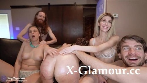 Our First Orgy With Jackplusjill And Frankie Rivers - Sexyhippies [FullHD]