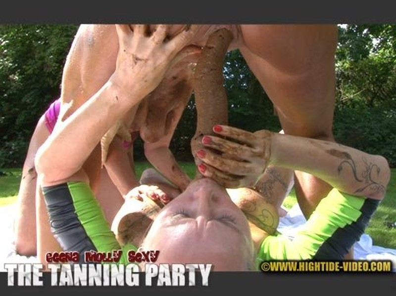 THE TANNING PARTY [HD 720p] – Lesbians, Eat, Masturbation with Geena, Molly, Sexy