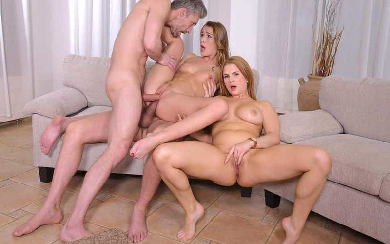 Katharina Rina, Alexis Crystal - Swingers' Dream Comes True [FullHD 1080P]
