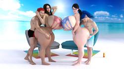 SuperTito - MIss.Rayne n Cattleya Hot Mama Lewd