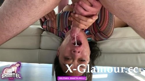 Upside Down Facefuck ! Pov Deepthroat! Throatpie! Big Dick Throat Bashes Hot Milf Flipped Facefuck [HD]