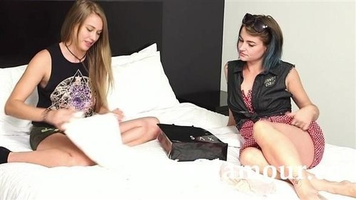 Amateurs - Raunchy Teens Take Part In Hot Steamy Sex (HD)