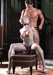 3Derotic - Vision In White