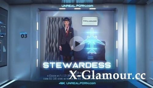 """Belle Claire in """"Stewardess"""" [4K]"""