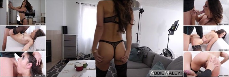 Abbie Maley, Wednesday Parker - Stuffed While Wearing Stockings (FullHD)