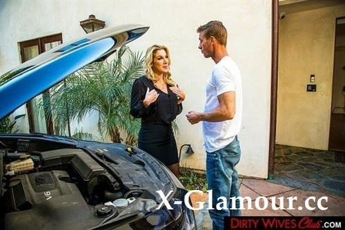 Kayla Paige - Busty Blonde Kayla Paige Fucks Mechanic With Husbands Permission (2021/SD)