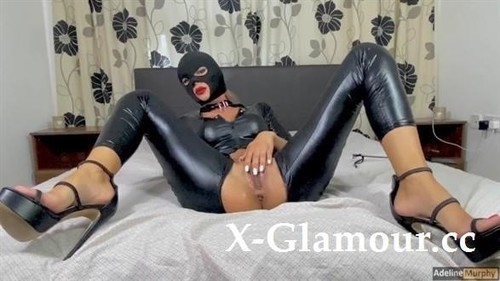 """Adeline Murphy in """"Adeline Murphy Gets Fucked Hard In Latex Suit And Butt Plug. Handjob And Blowjob. Cumshot In Mouth"""" [HD]"""