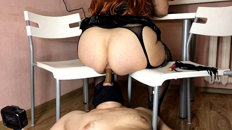 Mistress Annalise - BBW Shit Feeding [FullHD 1080P]