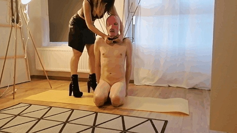 Israel Mistress Jardena caning Her slave [FullHD 1080P]