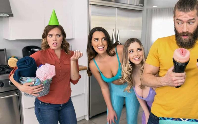 Codi Vore, Nolina Nyx - Smashing My Hot Lesbian Roommates [FullHD 1080P]