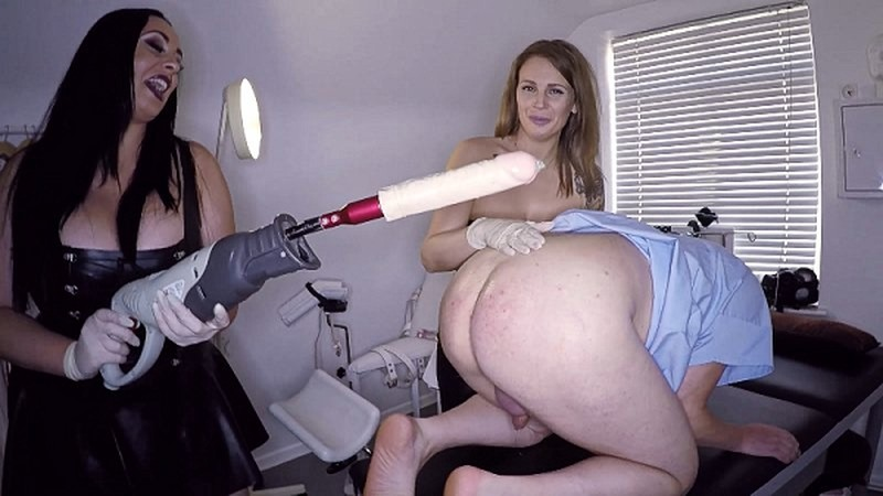 Anastasia Lux - Nurses test drildo on patient [FullHD 1080P]