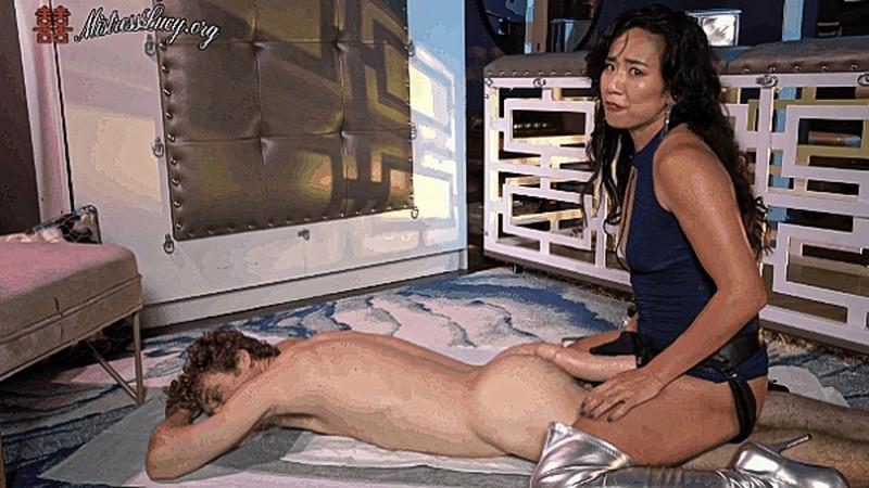 Mistress Lucy Khan - Using My butt slut urinal [UltraHD/4K 2160P]