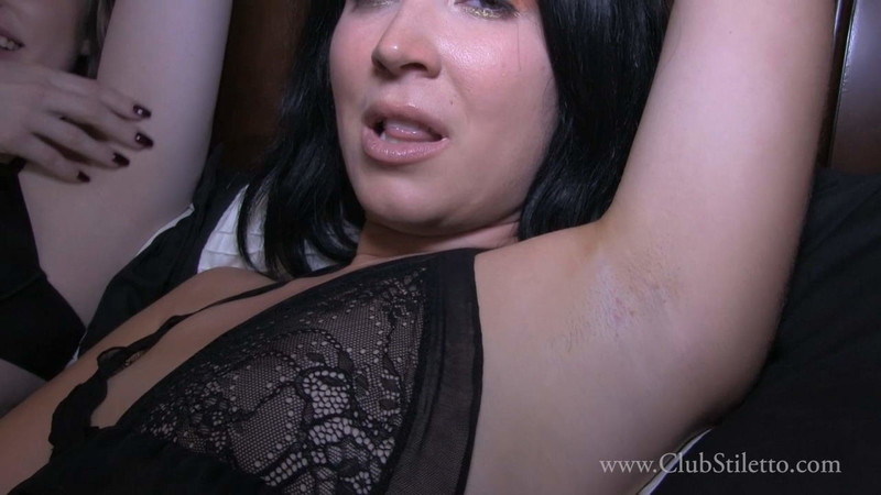 Club Stiletto Femdom - It'S Hot And Our Pits Stink, Lick Them Clean [FullHD 1080P]
