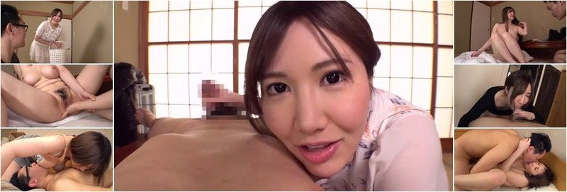 Wakatsuki Miina - A Cherry Boy S*****t Was Studying Hard For His Entrance Exams, So This Kind And Gentle Wife Decided That She Had No Choice But To Let Him Fondle Her Tits (HD)