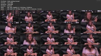 Holly Kiss - Holly X smoking masturbation, 1080p