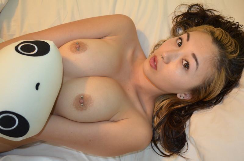 asian pierced nipples