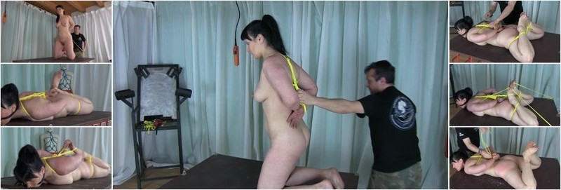 Amateur - Hard Tied Session - Spanking And Wax (FullHD)