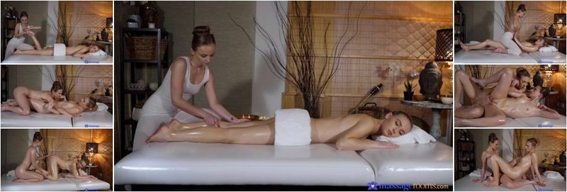 Jenny Wild, Lady Bug - Lesbians trib after a foot massage (FullHD)