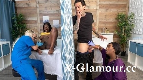 Tori Montana, Barbie Crystal, Ava Sinclaire - Fucking The Fertility Clinic Nurses Part 1 (HD)