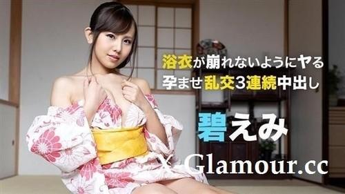 "Emi Aoi in ""3 Vaginal Cum Shots To Yukata Beauty"" [FullHD]"