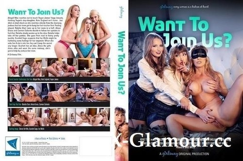 "Cherie DeVille, Abigail Mac, Natalia Starr, Alexa Grace, Ivy Wolfe, Carmen Caliente, Scarlett Sage, Kate England, Teagan James in ""Want To Join Us?"" [SD]"