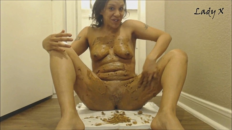 LadyX - Smearing shit all over [FullHD 1080P]