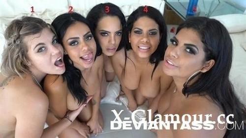 Kesha Ortega, Sheila Ortega, Canela Skin, Katrina Moreno, Clementine Marceau - Gangbang With Antonio And 5 Biggest Asses On The Planet [FullHD/1080p]