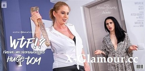 """Adele in """"Hot Alyssa Bounty Catches Her Stepmom With Her Huge Dildo"""" [FullHD]"""