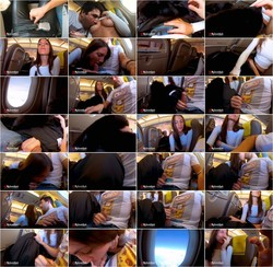 MySweetApple-Risky Blowjob in a Plane to Berlin - Mile High Club [FullHD 1080p] Onlyfans.com [2021/971 MB]