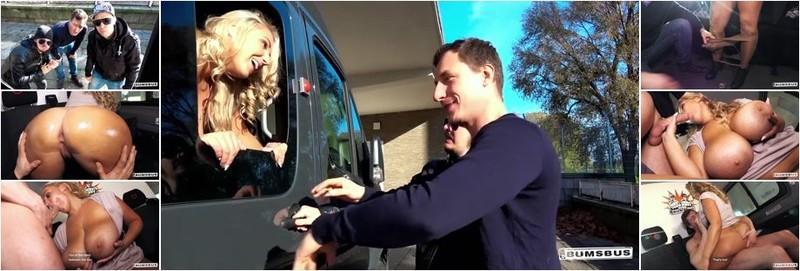 Krystal Swift - Lusty Czech BBW Krystal Swift gets oiled up and fucked hard in the sex van (HD)