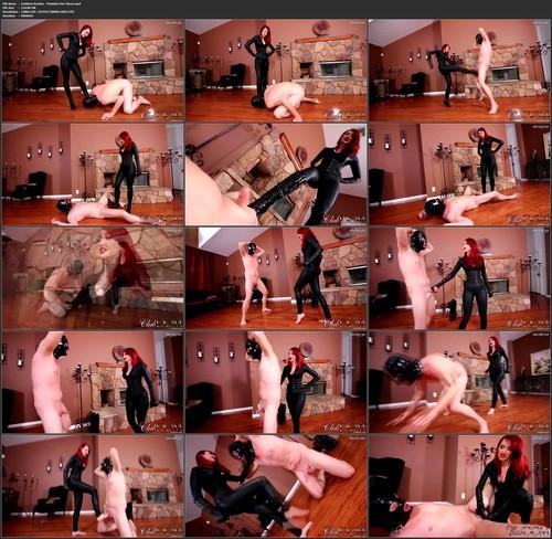 Goddess Kendra Punishes Her Slave