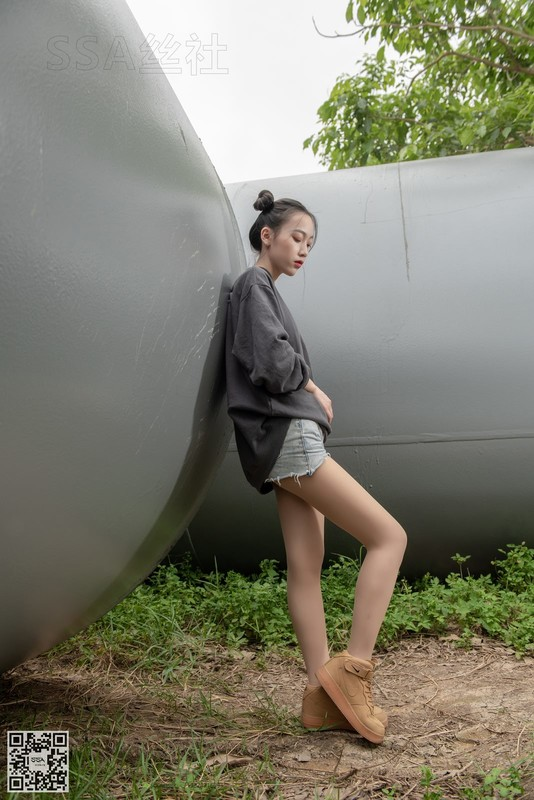 [SSA丝社]超清写真 No.125 腿模大大的郊外踏青之旅[154P/2.25GB] SSA丝社-第1张