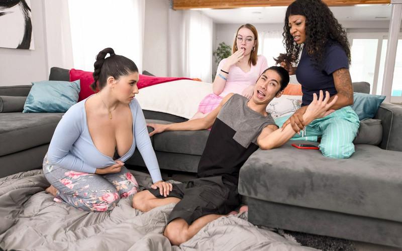 Laila Lust - Sneaky Sleepover Cheat - Watch XXX Online [FullHD 1080P]