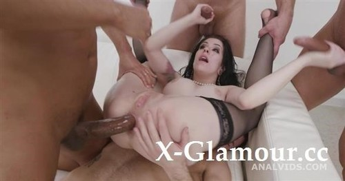Anna De Ville - St Valentines Goes Well, Anna De Ville Messy Fantasy With Balls Deep Anal, Dap, Gapes, Buttrose And Anal Creampie Gio1750 (2021/SD)