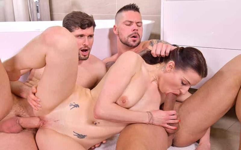 Victoria Daniels - Cuck Husband Arranges DP Threesome for Cheating Slut Wife [FullHD 1080P]