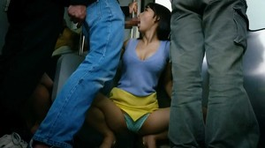 DOKS-540 Kissing Provocation On A Crowded Train sc6-7