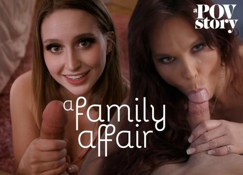 MissaX – Laney Grey And Syren De Mer A Family Affair [FullHD 1080p]