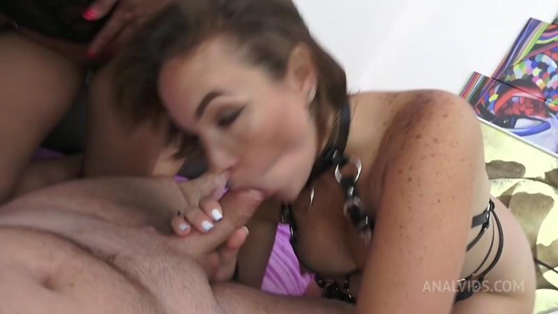 Anal 3some Anissa Kate & Paola Guerra - Sextape BGGA RA043 [HD 720p]