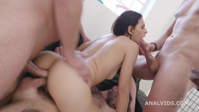 DAP Destination Goes Wet, Alicia Trece, 4on1, ATM, DAP, Big Gapes, Almost ButtRose, Pee Drink, Cum in Mouth, Swallow GIO1876 [HD 720p]