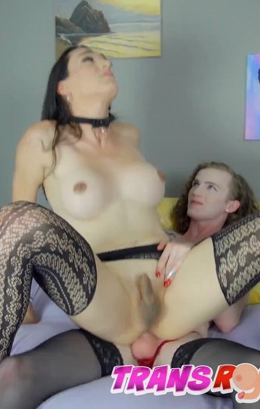Trans Bambi Bliss Wants Hard Bareback And Cum In Her Mouth (26 July 2021)