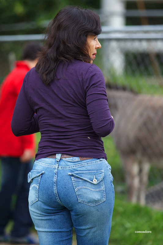 mexican milf in sexy jeans & boots
