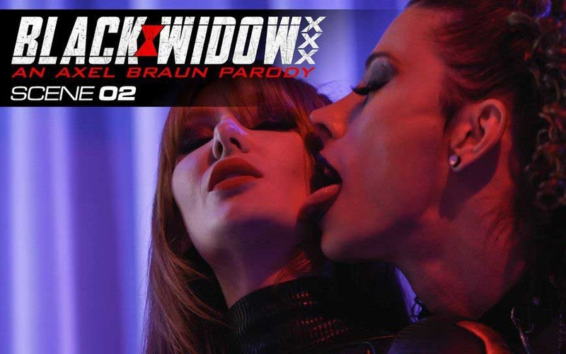 Lacy Lennon, Casey Kisses - Black Widow Part 2 [FullHD 1080P]