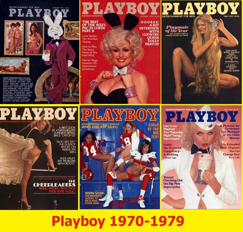 120 Magazines - Playboy (1970-1979) PDF