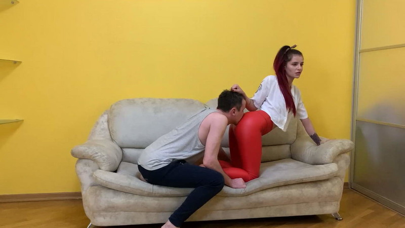 Petite Princess Femdom - Kiss My Butt, Worship My Ass! You Are A Slave To My Ass [FullHD 1080P]