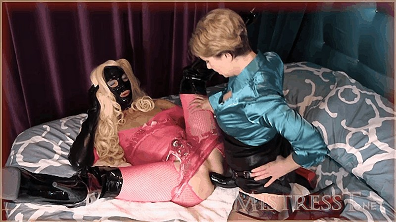 Fetish Fuckery - Sissy In Pink Gets Cock Trained [HD 720P]