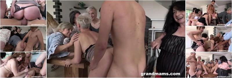 Alice Shark, Belinda Bee, Koko, Renate - Horny Grandmams And Toyboys Pt 2 (HD)