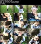 HiYouth - Teen Outdoor Blowjob (FullHD/608 MB)