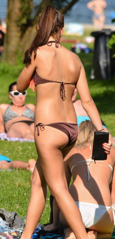 a couple of hot bikini girls