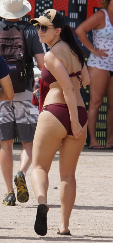 river tubing hotties in swimwear & bikini